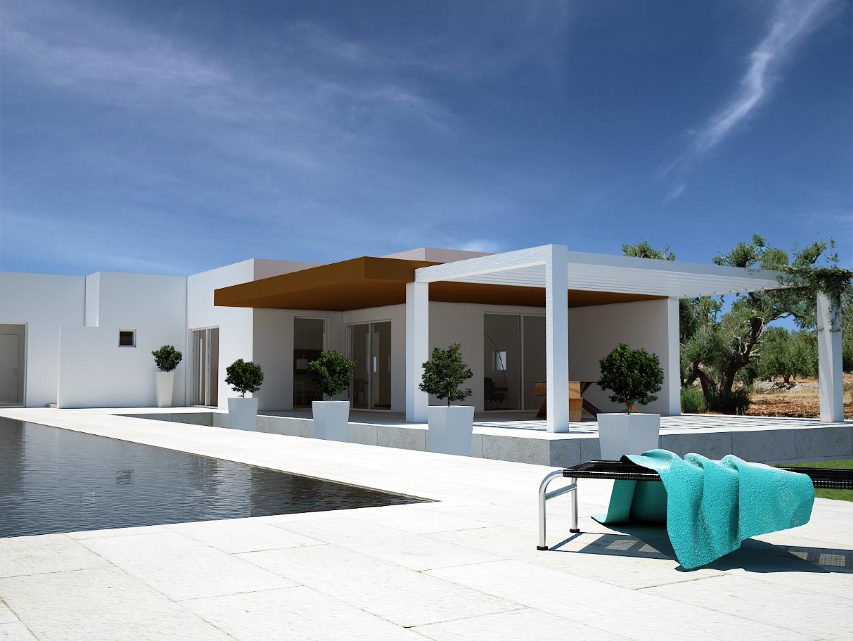 Bellissima villa con piscina chiavi in mano house in apulia trulli in vendita e in affitto in - Costo piscina interrata chiavi in mano ...